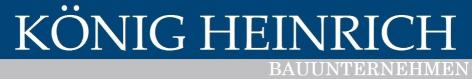 Logo - Bauunternehmen König Heinrich